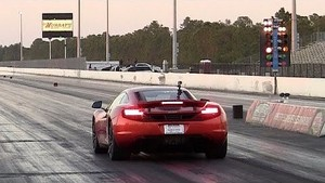 McLaren MP4-12C 1/4 Mile Drag Racing 10.55 @ 134.56 MPH Quickest Production Car other than Veyron