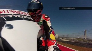 Honda MotoGP Pre-Season Testing Austin 2013: One Lap At Austin with Stefan Bradl