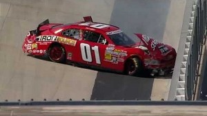 Nationwide Mike Wallace crash at Dover 2013