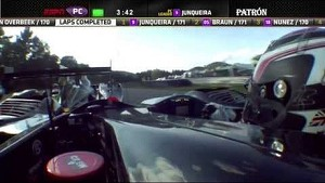 2013 Lime Rock - ESM / Level 5 Crash - ALMS - Tequila Patron - ESPN - Racing - Sports Cars