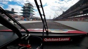 In-Car of Ryan Newman winning the Crown Royal 400 at the Brickyard (2013)