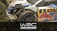 Sebastien Ogier´s Crash @ ADAC Rallye Deutschland 2013