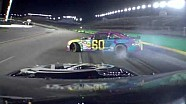 NASCAR Travis Pastrana brings out the caution | Kentucky 2013