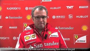 Japanese Grand Prix - Stefano Domenicali, about race