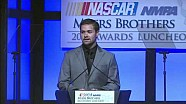 NASCAR | Stenhouse Jr. accepts Rookie of the Year award (2013)