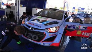 Rally Mexico Day One - Hyundai Shell WRT 2014