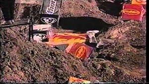 Ricky Carmichael's Horrific Crash At Las Vegas Supercross 1999