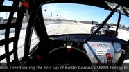 16 Year Old Sheldon Creed Visor Cam - Stadium SUPER Trucks - Race Start - IndyCar Weekend