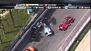 Long Beach crash of Josef Newgarden and Ryan Hunter-Reay