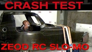 ZEOD RC CRASH TEST IN SLOW MOTION