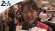 Le Mans 2014: interview Keiko Ihara during qualifying
