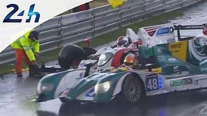 Le Mans 2014: crash of the Zytek #41