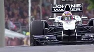 Jenson Button tackles the Festival of Speed in McLaren MP4-26