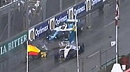 Horrific accident at start of IndyCar race - Surfers Paradise 2002