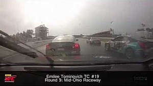 PWC 2014 Mid-Ohio On Board Highlights of Emilee Tominovich Round  9