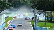 2014 Sprint Cup - Newman and McDowell HUGE CRASH! - Watkins Glen