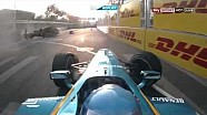 Nick Heidfeld and Nicolas Prost huge crash Formula E Round 1 Beijing
