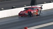 Pro Mod Driver Pete Farber hits the wall in St. Louis | NHRA