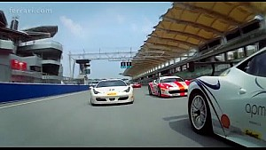 Ferrari Challenge APAC: Wyatt and Tjiptobiantoro victorious in Race 2 at Sepang