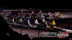 #ThrowbackThursday: World of Outlaws Sprint Cars Volusia Speedway Park February 11th, 2005