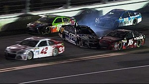Stewart, Biffle, Busch crash on Lap 67