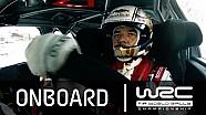 Rallye Monte-Carlo 2015: Onboard Sébastien Loeb SS14