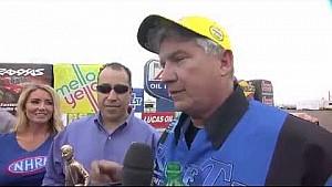 Rodger Brogdon takes the Pro Stock Wally in Phoenix #NHRA