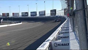 Great finish: Dillon vs. Blaney - 2015 NASCAR XFINITY race - Las Vegas