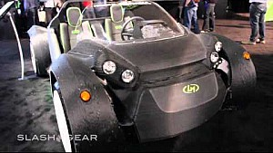 World's First 3D-printed car Local Motors