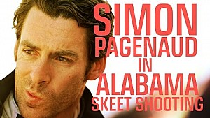 Alabama skeet shooting with Simon Pagenaud