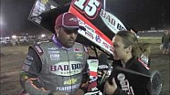 2015 World of Outlaws Sprint Car Series Mini Gold Cup Victory Lane