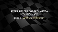 Lamborghini Blancpain Super Trofeo Europe, Monza - Race 2