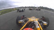 Hunter-Reay, Pagenaud, Bourdais Grand Prix of NOLA Incident