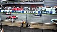 Felipe massa se adelanta en la salida del gp de belgica de f1