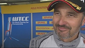 Yvan Muller takes Pole Position