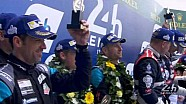 The 83rd Edition of the 24 Hours of Le Mans Podium - LMGTE-Am Category