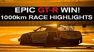 Epic GT-R win! Race Highlights Paul Ricard 1000km BES 2015