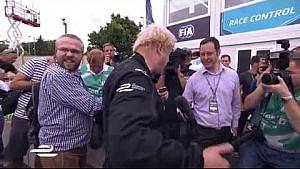 Boris Johnson's Formula E drive