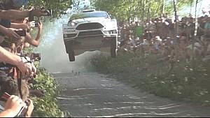 Tanak/Molder - Big Jump - WRC Rally Poland 2015