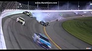 Carl Edwards gets lifted up in second big wreck at Daytona