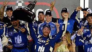 1-on-1: Fear in victory for Dale Jr. in Daytona