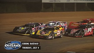 Highlights: Late Model Series Hibbing Raceway July 9th, 2015