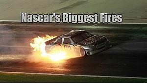 NASCAR's biggest fires