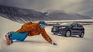 Nissan Qashqai, la prova su una pista da sci con Tonio Liuzzi!