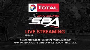 LIVE 24 Hours of Spa 2015 - Part 3