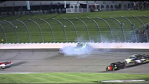 Chase Elliott and Brandon Jones crash at Iowa