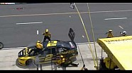 Brad Keselowski hits his crew at Pocono