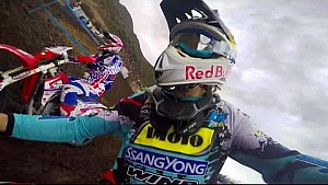 Enduro Racing POV in the Chilean Andes