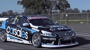 Alex Buncombe returns to Australia for Nissan V8 test