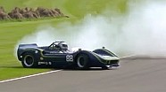 Big spin off-track by McLaren Chevrolet at Goodwood